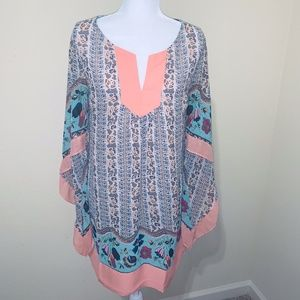 Women's Tunic UMGEE Floral Dress Large